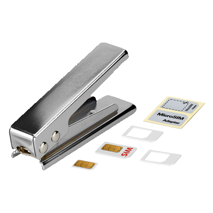 SIM Kartenstanze SIM auf Micro SIM