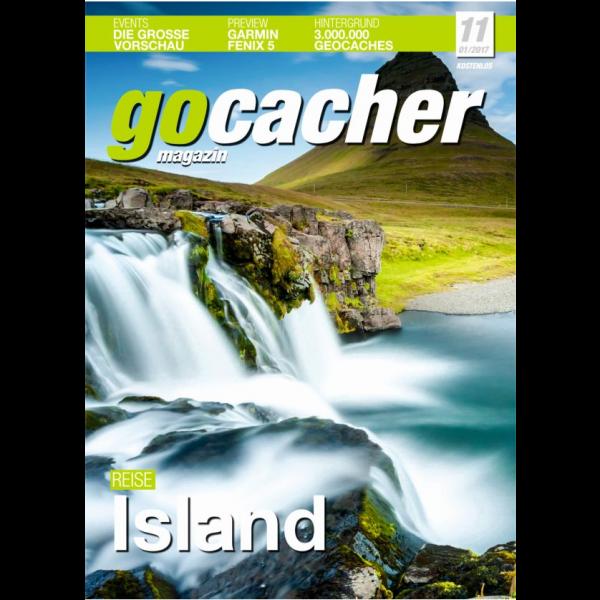 gocacher Magazin Nr. 11, kostenlos