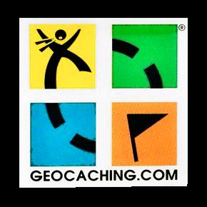 Geocaching Logo, Anstecknadel