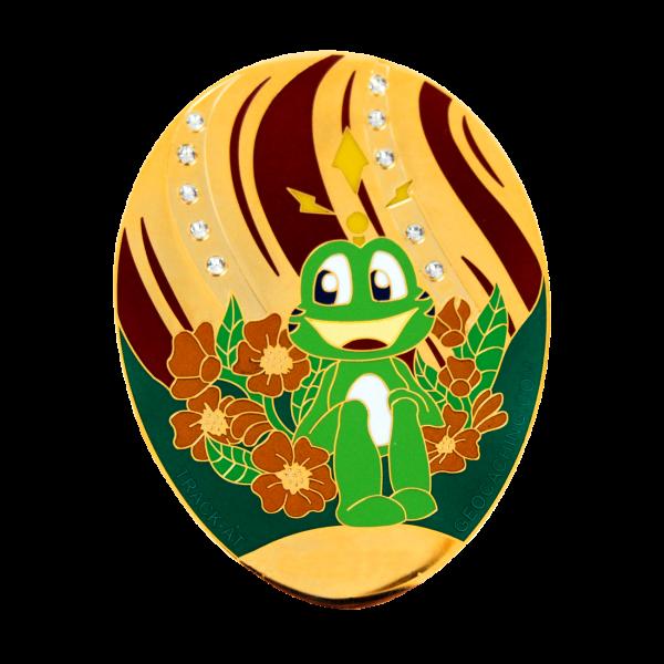 Signal the Frog® Geocoin, Fabergé Ei