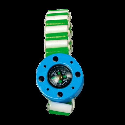 "Kinder-Armband ""Kompass"", blau"