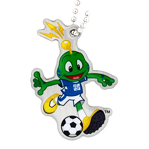 Signal the Frog® Sommer Sport Travel Tag - Fußball