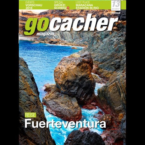 gocacher Magazin Nr. 13, kostenlos