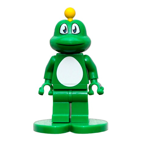 Signal the Frog®, Legofigur mit trackable Legostein