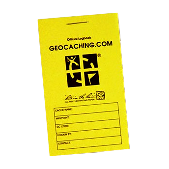 Groundspeak Official Geocaching-Logbuch RITR, Small