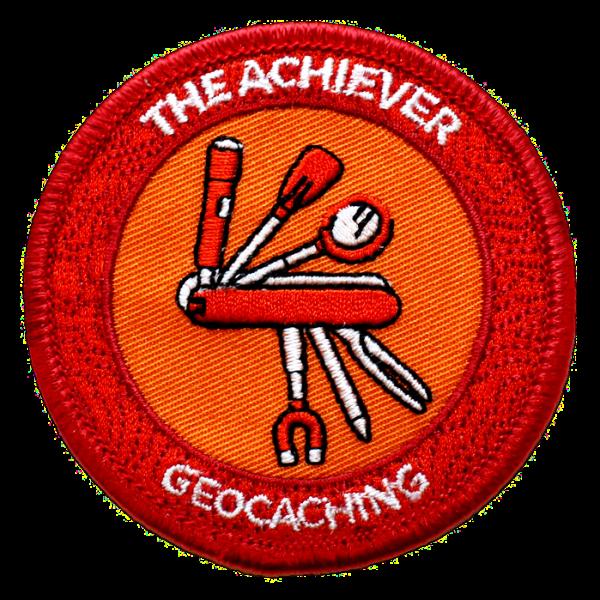 """7SofA Patch """"The Achiever"""" - Der Erfolgsmensch, Aufnäher"""