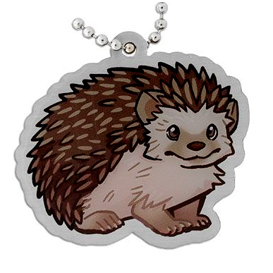 Anise the Hedgehog, Igel Travel Tag