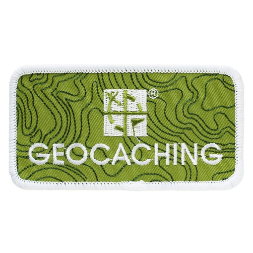 Geocaching Logo Patch, Aufnäher