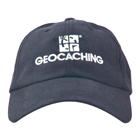 Navy Geo Logo Cap, marineblau