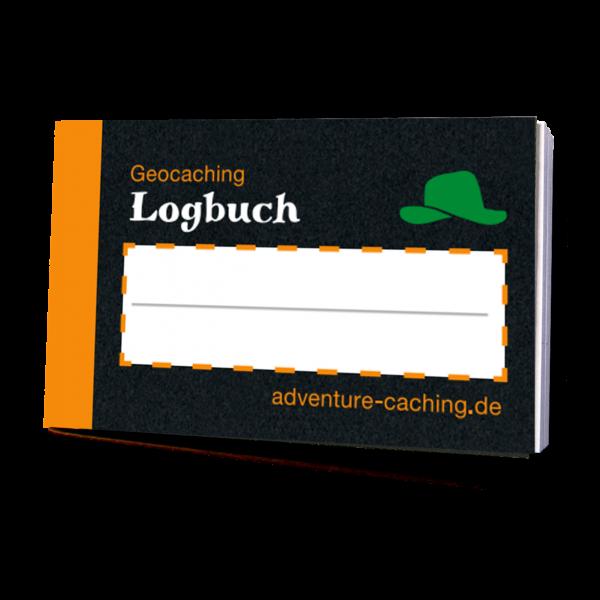 Geocaching Mikro-Logbuch XL, Black-Edition, Filmdosenlogbuch