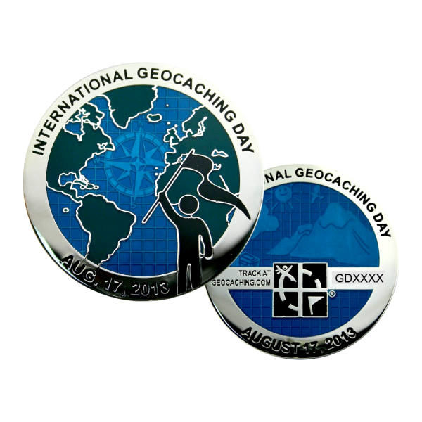 Coin International Geocaching Day