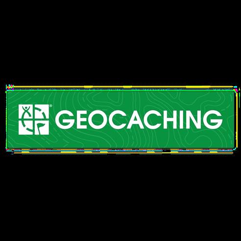 Geocaching Logo und Schriftzug Sticker