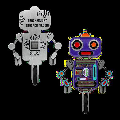 Einrad-Roboter, Geocoin