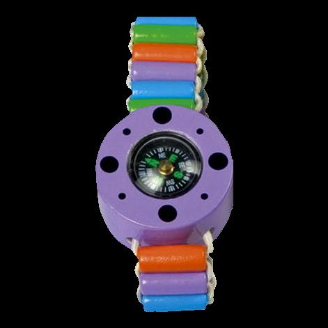 "Kinder-Armband ""Kompass"", violett"