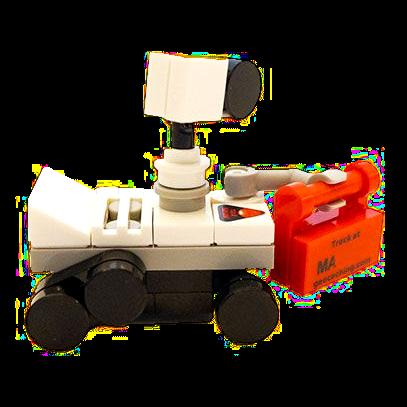 Trackable Mars Rover, LEGO®-kompatibel