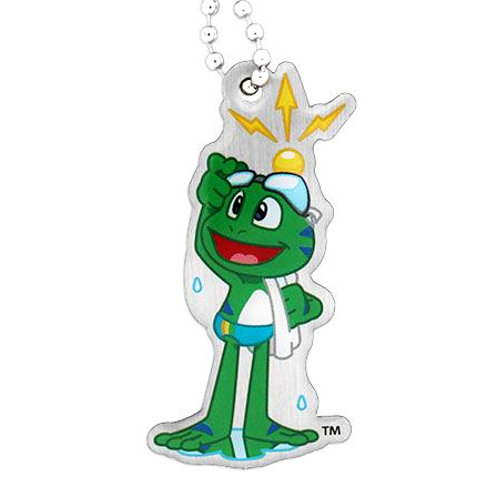 Signal the Frog® Sommer Sport Travel Tag - Schwimmen