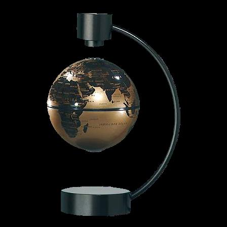 Magnet-Schwebeglobus, 10 cm, BRAUN