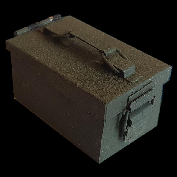 Deko Mikro-Munitions-Behälter, grün