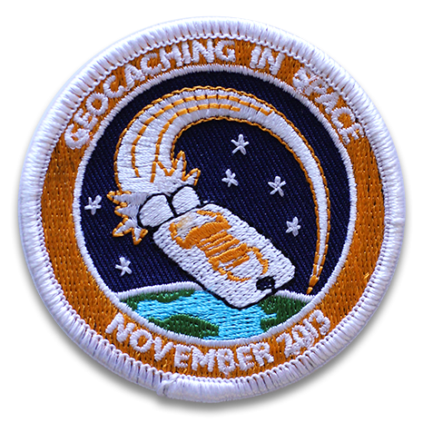 Patch Geocaching in Space