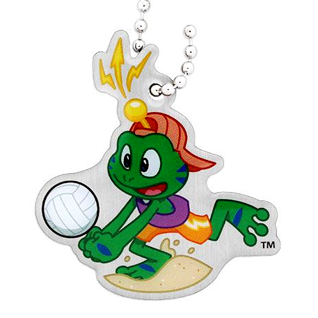 Signal the Frog® Sommer Sport Travel Tag - Beachball