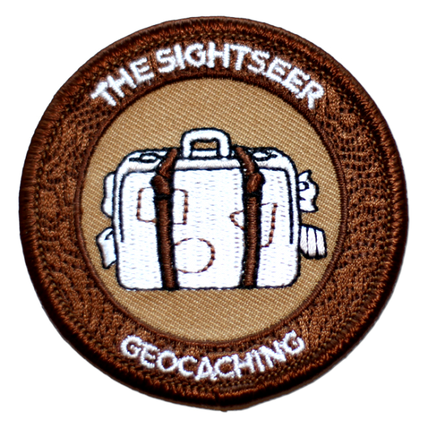 "7SofA Patch ""The Sightseer"" - Der Tourist, Aufnäher"