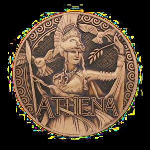 """Griechische Götter Geocoin, """"Athene"""""""