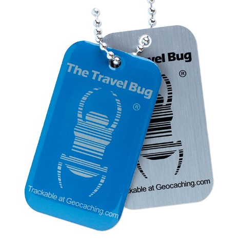 QR-Travel Bug®, Blau