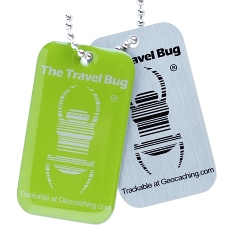 QR-Travel Bug®, Grün