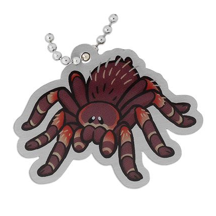 Cool Rancho the Tarantula, Vogelspinne Travel Tag