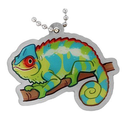 DNF the Chameleon, Chamäleon Travel Tag