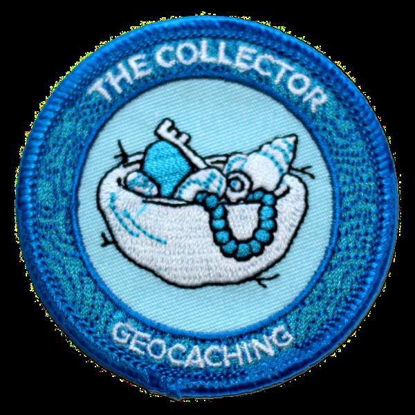 "7SofA Patch ""The Collector"" - Der Sammler, Aufnäher"